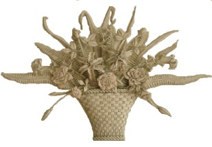Carved Basket
