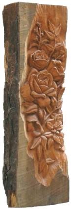 Carved Log