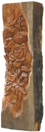 Carved Log