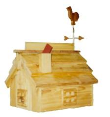 Custom Wood Mailbox