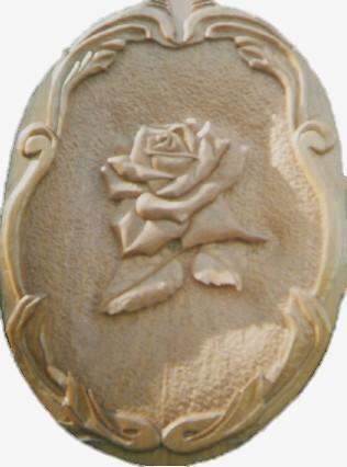 Carved Rose Mural