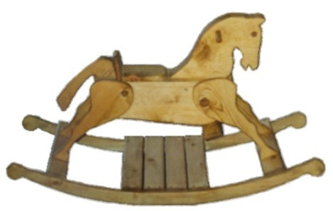 Custom Made Rocking Horse