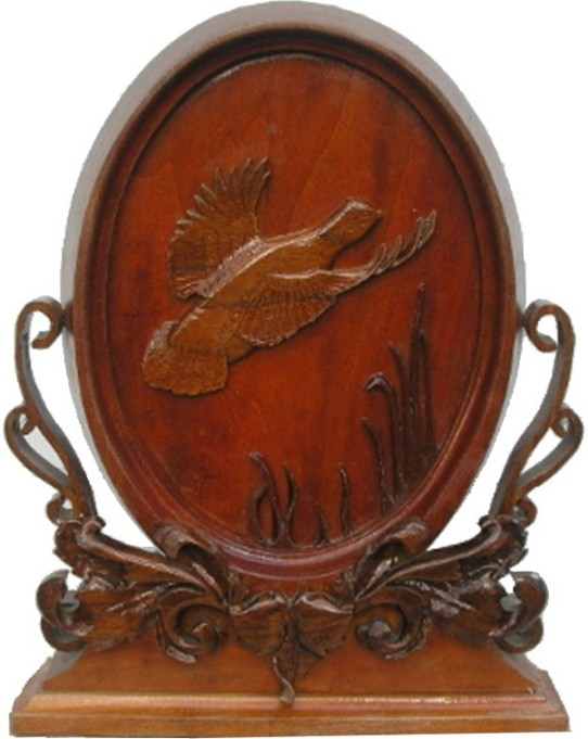 Carved Quail